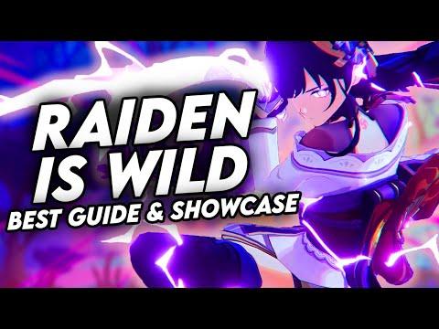 COMPLETE RAIDEN SHOGUN GUIDE! Best Raiden Builds | Artifacts, Weapons & Showcase | Genshin Impact