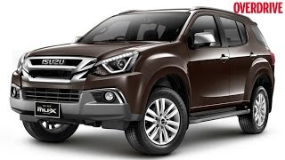 Upcoming: Isuzu MU-X to be launched in India on May 11, 2017