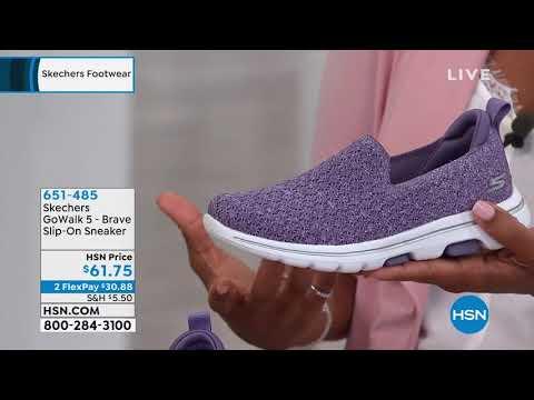 Skechers GoWalk 5 Brave SlipOn Sneaker