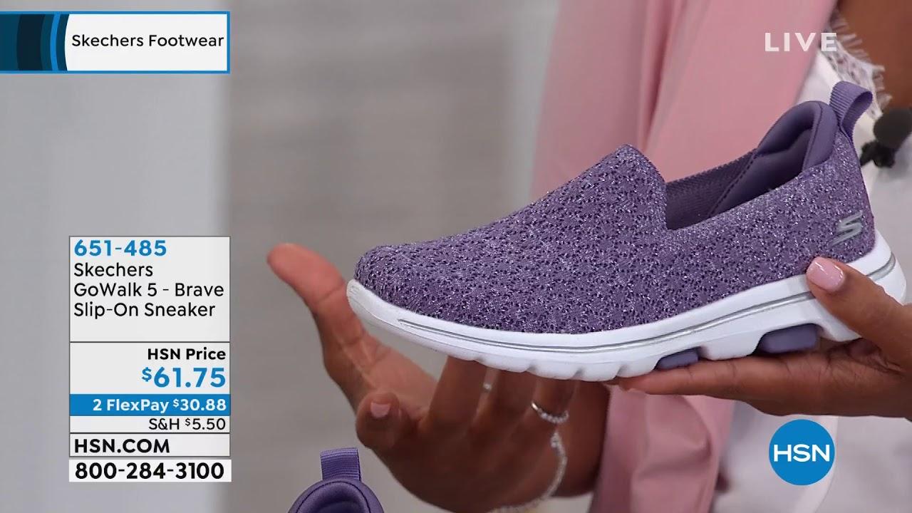 skechers go walk slip on sneakers