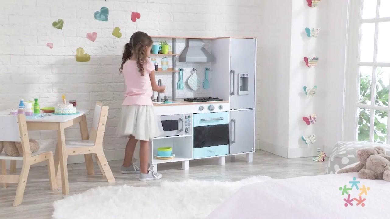 Kidkraft Cuisine Enfant Gourmet Chef Kidkraft 53421 Youtube