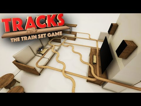 BUILDING A WOODEN TOY TRAIN TRACK!! TOY PASSENGERS! | Tracks The Train Set Game Gameplay & Review
