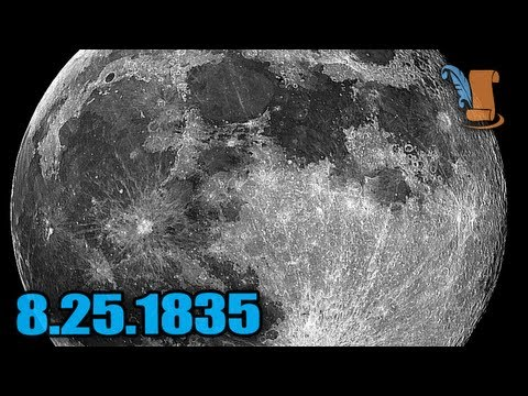 A Day In History: The Great Moon Hoax