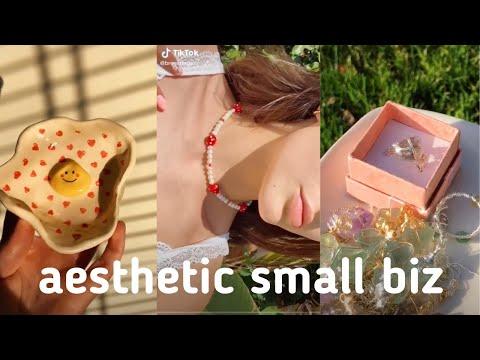 aesthetic small business tiktok/trendy crafts!