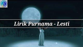 Gambar cover Lirik Lagu Purnama - Lesti (New Single Lesti)