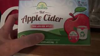Aldi Hot Apple Cider K-Cup Review NEW 2017 - Does It Taste Yummy?