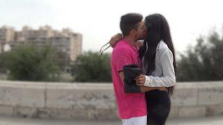 Kissing Prank GONE HOME!