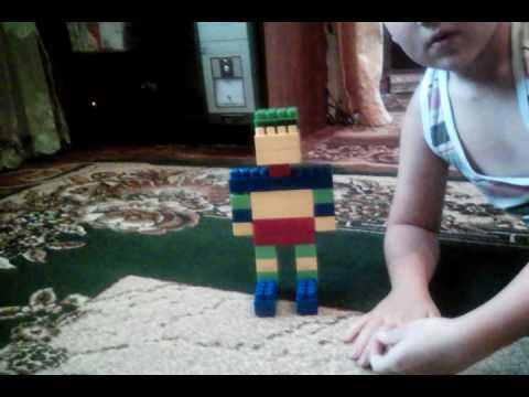 Как построить из конструктора робота ч.1