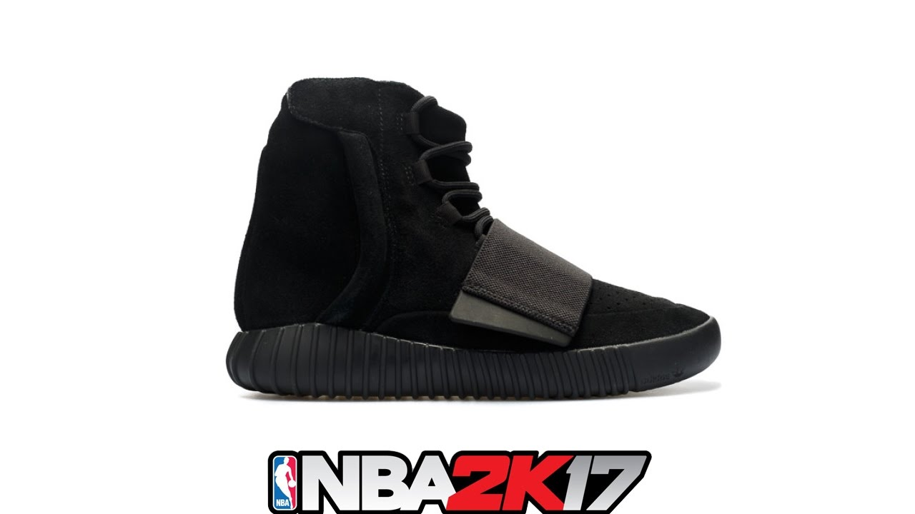 new style fb413 70d7b NBA 2K17 Shoe Creator ⋆ NBA2K17⋆ Yeezy 750 Boost Black 🔥👟🔌