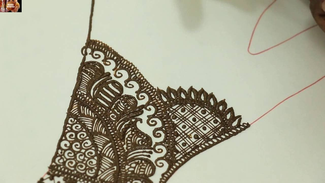 Indian mehndi designs 2016 - Learn Beautiful Traditional Indian Henna Mehndi Designs For 2016 Festivals By Mehndiartistica Youtube