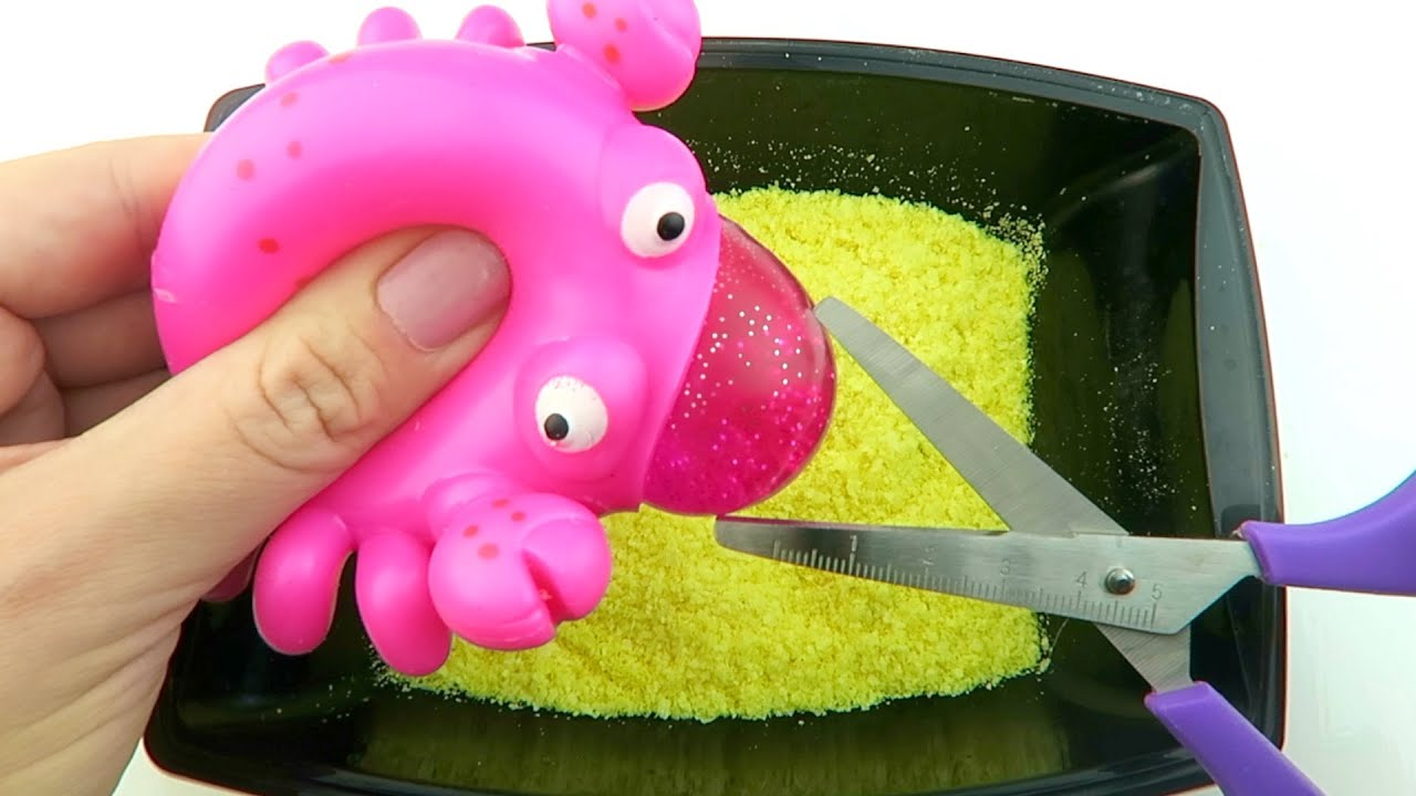Making Slime With Mashed Potatoes and Stress Toy! Will it Slime?