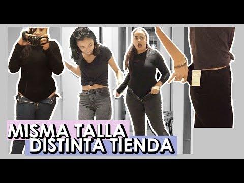 MISMA TALLA DE JEANS EN DISTINTAS TIENDAS DE CHILE   BabiSanoja