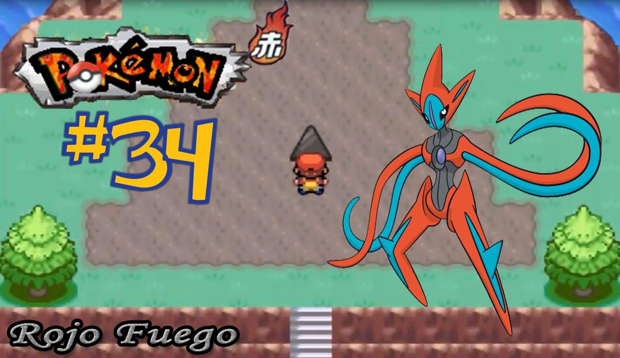 Pokémon Rojo Fuego 34 A Por Los Legendarios Isla Origen Deoxys Youtube