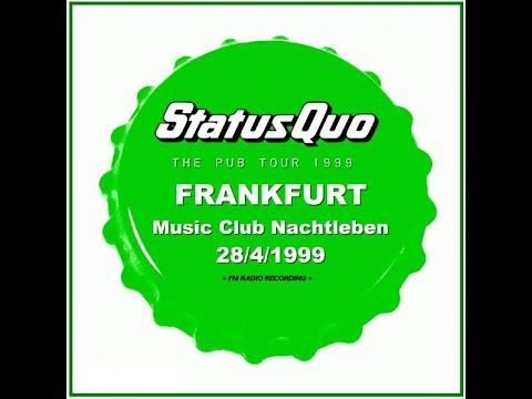 Status Quo pubtour Frankfurt 21-09-'99