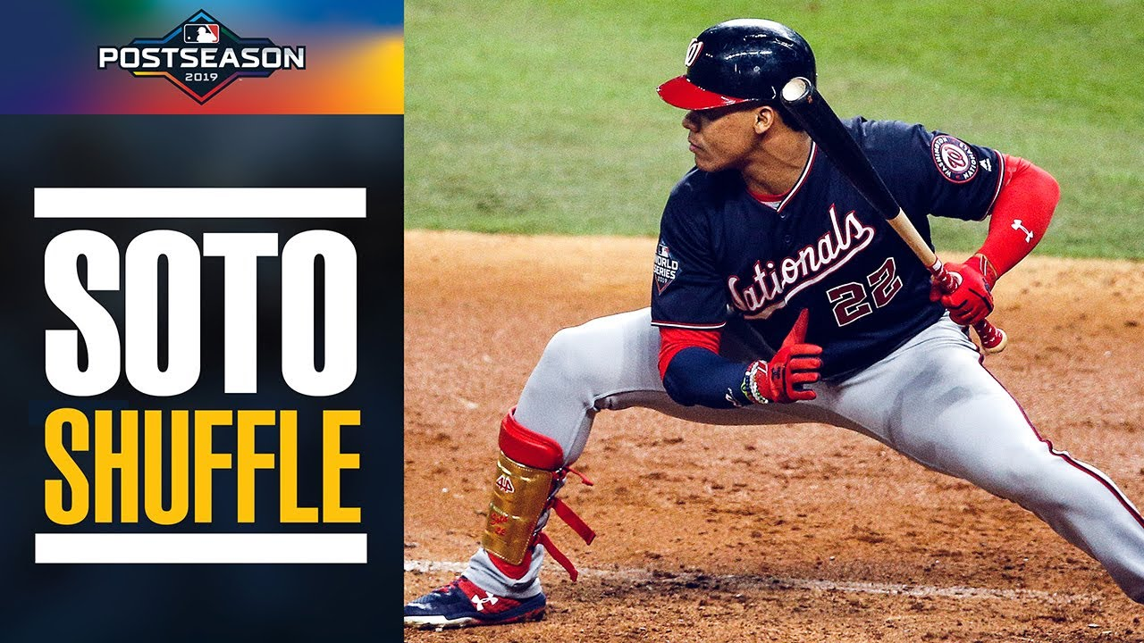 All of the Juan Soto Shuffles from the 2019 Postseason | MLB Highlights