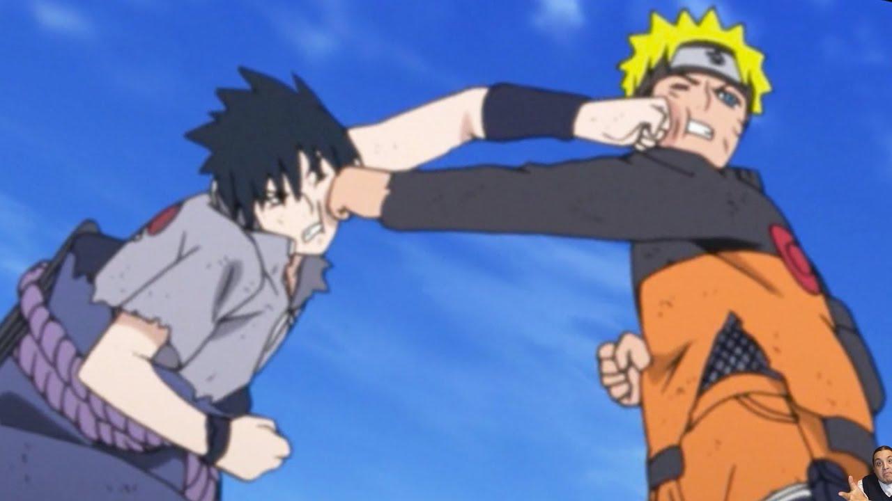 Naruto Vs Sasuke Final Fight MOCKED In Shippuden Anime
