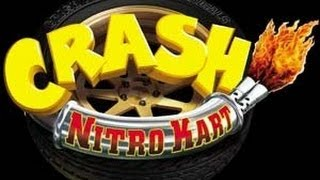 Classic PS2 Game Crash Nitro Kart on PS3 in HD 1080p