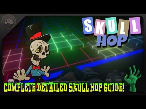 Complete Skull Hop Detailed Guide Steps 1 - 6 | Attack Of The Radioactive Thing Side Easter Egg