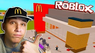 We BUILD OUR MCDONALDS (Roblox McDonald's Adventure) ep. 1