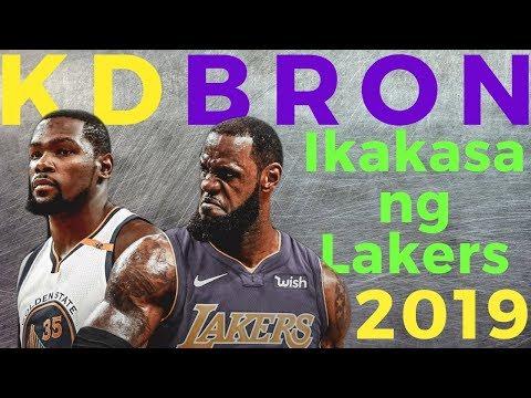 Kevin Durant: Balak sumunod kay Lebron James sa Los Angeles Lakers