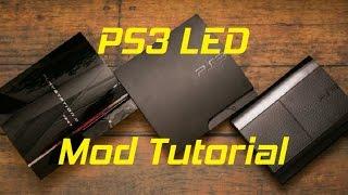 PS3 LED Case Modding - Tutorial