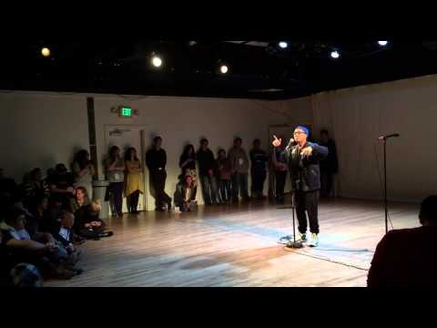 Prometheus Brown at the Seattle Asian American Film Festiva