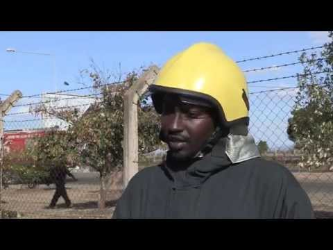 Somali Firefighters in Kenya for Airport Fire & Rescue Training