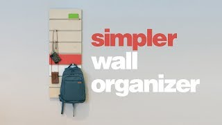 DIY Simpler Wall Organizer - Woodworking thumbnail