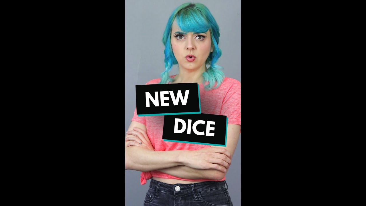 Buying new dice // Conversations with my Dice pt. 4 #Shorts