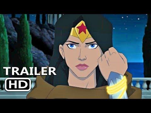 WONDER WOMAN: BLOODLINES Official Trailer (2019) DC Superhero Animation