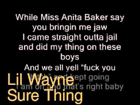 Lil Wayne (Sure Thing)