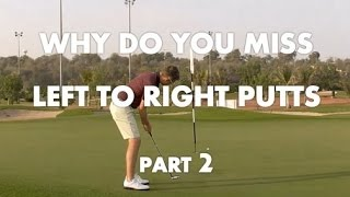 Video Putting Lesson - Left To Right Putts - Part 2 download MP3, 3GP, MP4, WEBM, AVI, FLV Juli 2018