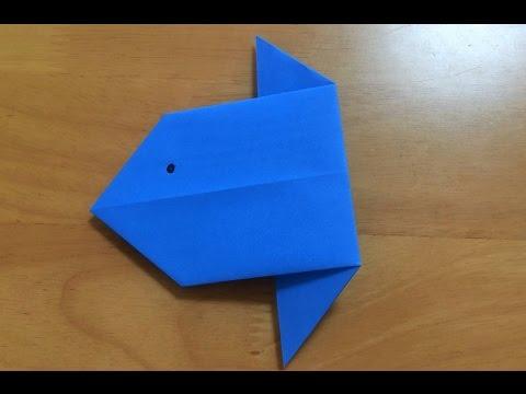 ハート 折り紙 折り紙海の生き物折り方 : youtube.com