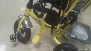 Трехколесный велосипед Lamborghini Air L2 с фарой - fiksiki.com.ua