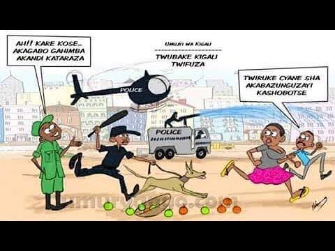 Police y'u Rwanda n'intwaro zidasanzwe mu guhiga abazunguzajyi