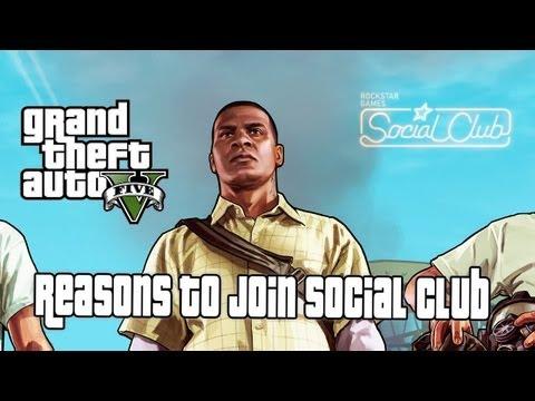 GTA V Commentary Reasons to Join Rockstar Social Club