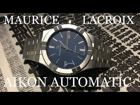 Maurice Lacroix Aikon Automatic (Baselworld 2018) - Review