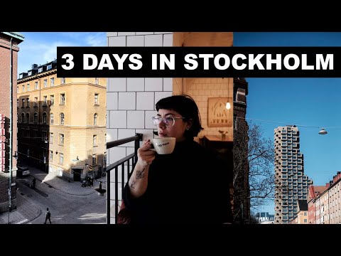 LONDONERS EXPLORE STOCKHOLM | 3 DAY TRAVEL VLOG | Best shops, museums & food!