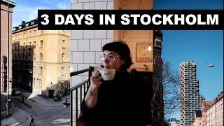 LONDONERS EXPLORE STOCKHOLM | 3 DAY TRAVEL VLOG | Best shops, museums & food!