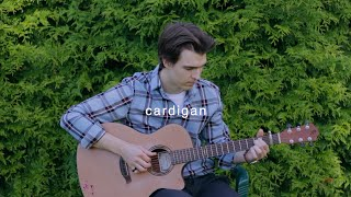cardigan - Taylor Swift (Fingerstyle guitar cover)