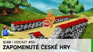Hrej.cz Vidcast #55: Zapomenuté české hry