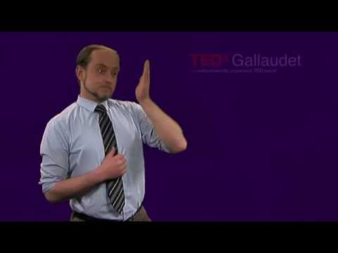 An Insight from DeafSpace | Robert Sirvage | TEDxGallaudet
