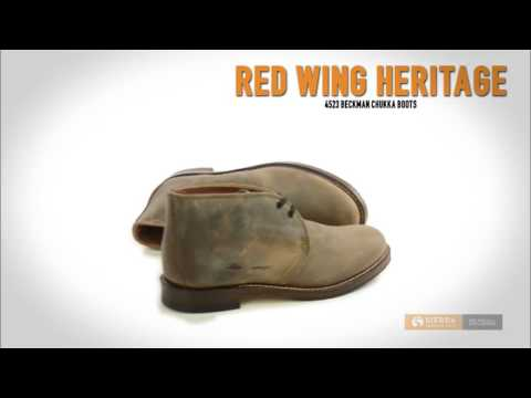 638360d61acf8 Red Wing Heritage 4523 Beckman Chukka Boots - Factory 2nds (For Men ...