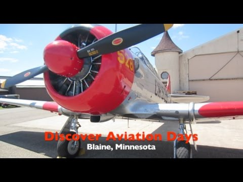 Discover Aviation Days...Piston Poppers CL Flyers, Anoka Airport, MN