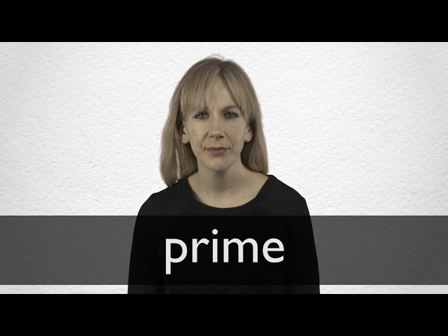 Prime Definition And Meaning Collins English Dictionary