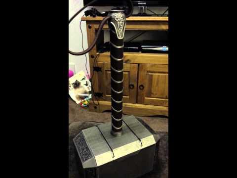 Lager Toys Thor The Dark World Mjolnir Replica