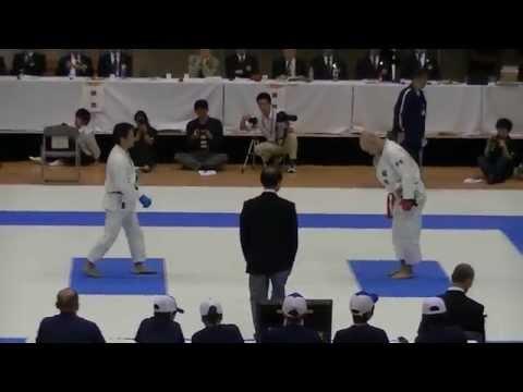 2014日本スポーツマスターズ 男子組手1部決勝 城田(福岡) vs 佐藤(神奈川)