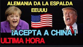 Alemania da La Espalda a EEUU dice SI a HUAWEI ¡  eeuu muy furioso !
