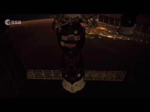 Space timelapse over Brazil