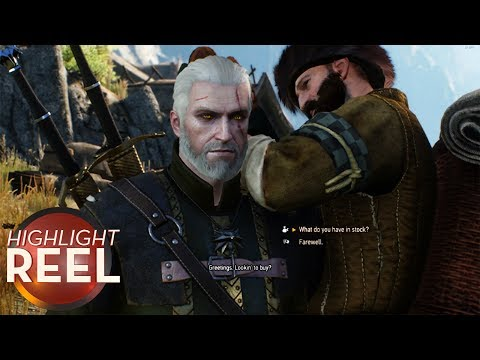 Highlight Reel #318 - Witcher 3 NPC Doesn